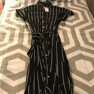 Ralph Lauren Blouse Black/White Summer dress